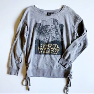 Star Wars Sweatshirt A New Hope lace up crew neck